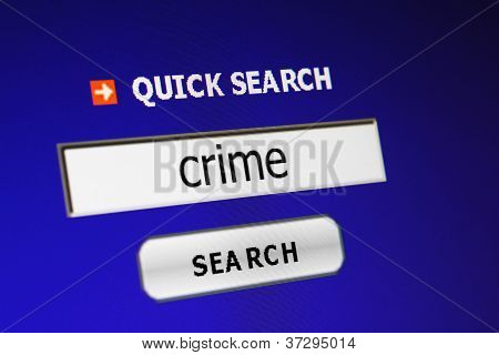 Search For Crime