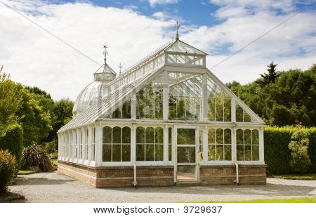 Greenhouse At Malahide Castle - Rear View