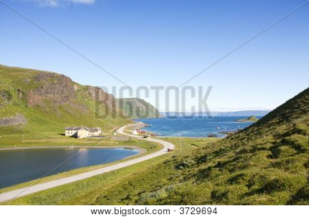 Summer Norwegian Landscape