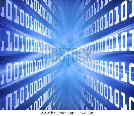 Binary Code Blue Energy