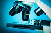picture of cytology  - Laboratory microscope lens - JPG