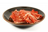 picture of wagyu  - Wagyu Beef Strips Also Known as Kobe Meat - JPG