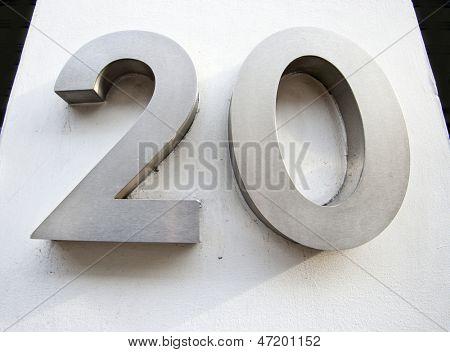 Door Number of Twenty