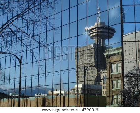Vancouver City Reflection