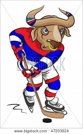 Buffalo - The Hockey Player