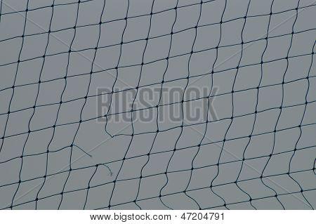A broken net