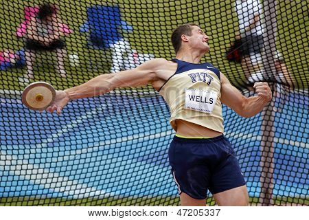 Discus Throw Male Canada Release