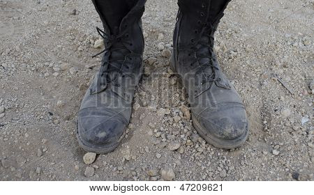 dusty boots