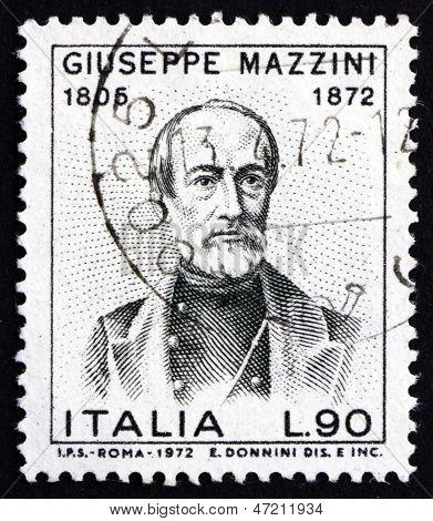 Postage Stamp Italy 1972 Giuseppe Mazzini, Patriot