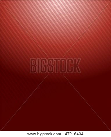 Red Gradient Lines Pattern Illustration