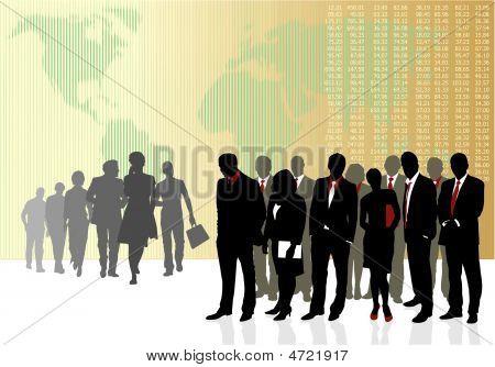 Equipes de negócios