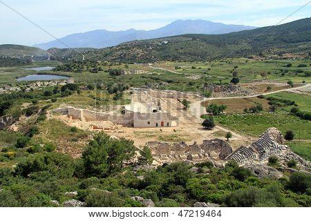 Ruins In Patara