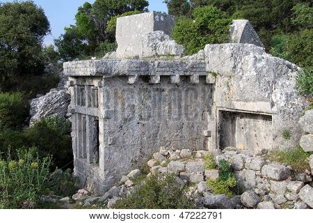 Wall Of Sarcophagus