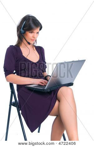 Worker Of The Call-centre