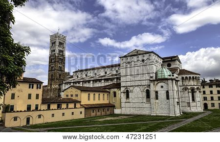 Dome Of Lucca, Duomo Di Lucca, Tuscany, Italy