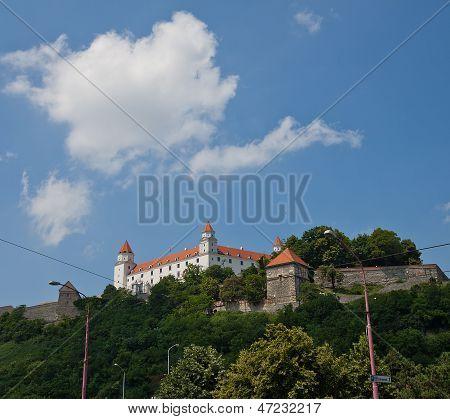 Bratislava Castle (founded In Ix C.). Bratislava, Slovakia
