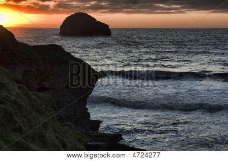 Seashore By Tintagel