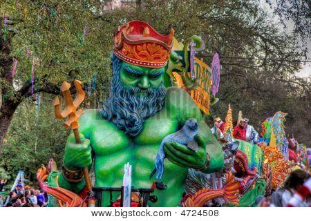 Proteus Mardi Gras Float
