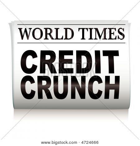 Newspaper Credit Crunch