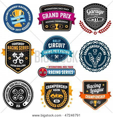 Emblemas Racing