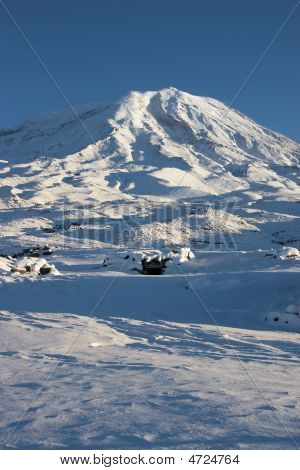 Winter Image Of Mount Ararat, Turkey