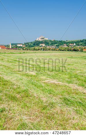 Rural Landscape In Transylvania, Rupea