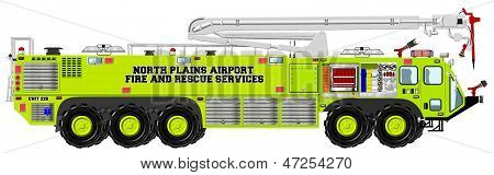 Airport Rescue and Fire Fighting Unit