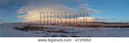 Panoramic Image Of A Cloud At Mount Ararat Summit