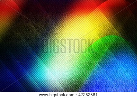Abstract Background,colorful  Wave Background