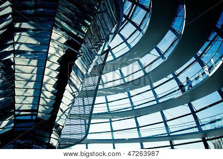 REICHSTAG TRANSPARENT DOME