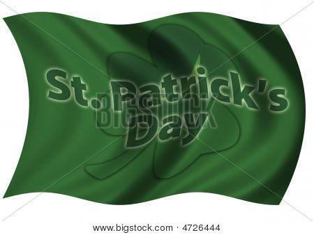 St Patrick's Day Flag