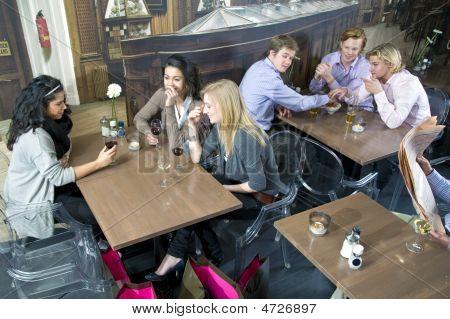 Cafe Flirting