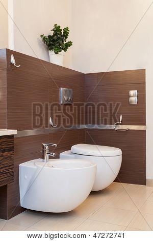 Classy House - Toilet With Bidet