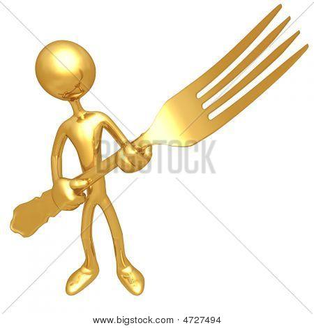 Golden Fork