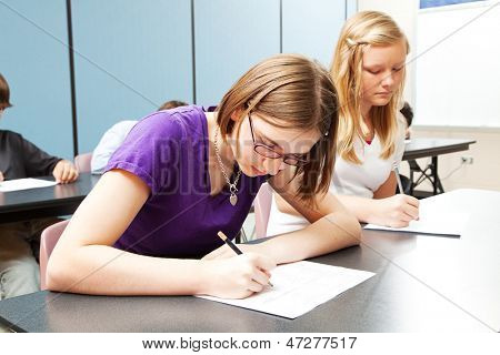 High School Academic Testing