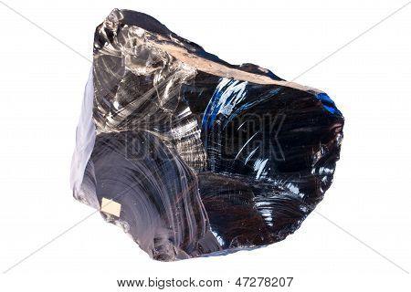 Obsidian (vulkanische Glas)