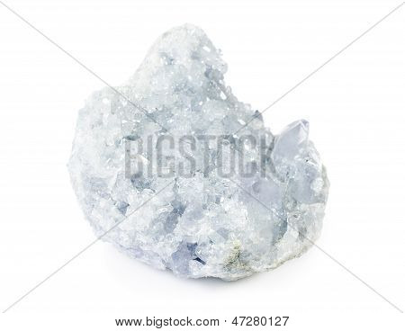 Beautiful Celestite Druse Close-up