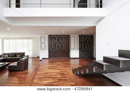 Interior design: Modern big living room