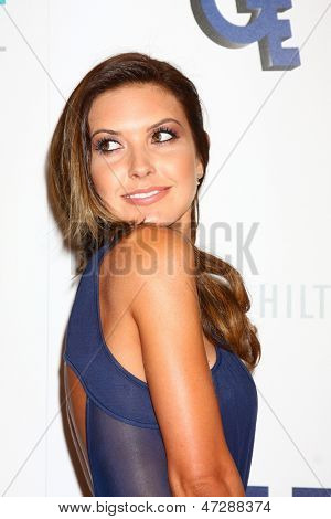LOS ANGELES - JUN 25:  Audrina Patridge arrives at the 4th Annual Thirst Gala at the Beverly Hilton Hotel on June 25, 2013 in Beverly Hills, CA