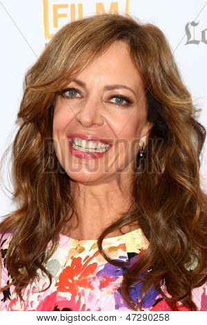 "LOS ANGELES - JUN 23:  Allison Janney arrives at  ""The Way Way Back"" Premiere as part of the Los Angeles Film Festival at the Regal Cinemas on June 23, 2013 in Los Angeles, CA"