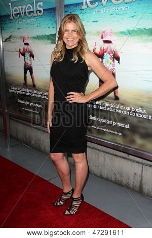 LOS ANGELES - JUN 12:  Mariel Hemingway arrives at the