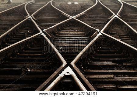 Estrada de ferro no nevoeiro
