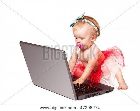 Tiny Baby Girl Like Masterful Net User