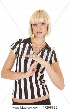 Woman Blond Ref Time Out