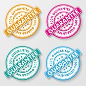 100 Percent Guarantee Paper Labels