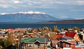 stock photo of natal  - Strait Of Magellan Puerto Natales Patagonia Chile - JPG
