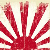 pic of japanese flag  - Japan square grunge flag - JPG