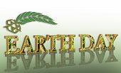 Earth Day Graphic poster