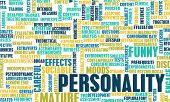 stock photo of character traits  - Personality Traits and Test as a Concept - JPG