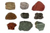 picture of scoria  - Volcanic rocks  - JPG